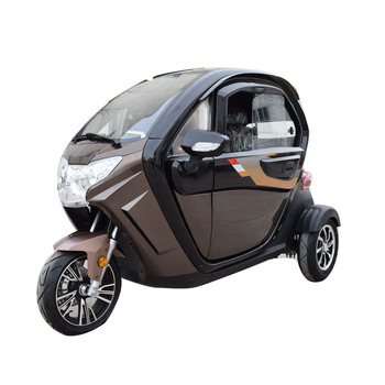 Air Conditioned Tricycles 3 Wheel Electric Adults Scooter Taxi Tricycle