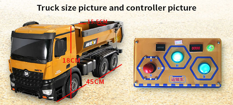 Engineering Paradise Alloy Digging Machine Truck Simulator for children