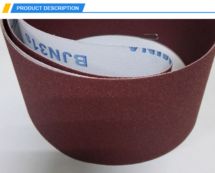 High Quality Abrasive Sanding Belt for metal and wood flooring