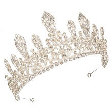 Free customized 16 heart princess sweet sixteen diamond birthday crystal tiara <strong>crowns</strong>