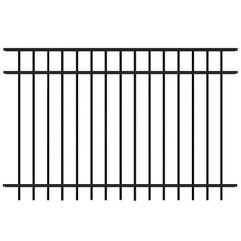 China Wholesale Wrought Iron Pickets Decorative Steel Fence Panels