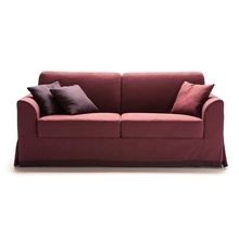 Modern Two fold fabric sofa bed, 2 Use cheap sofa home or restaurant sofa <strong>furniture</strong>