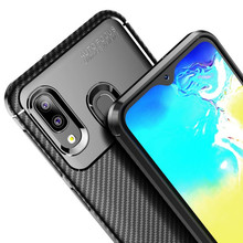 Newest Arrival Beetle Carbon Fiber Silicone Soft Tpu <strong>Phone</strong> Back Cover Case for Huawei Honor 20/20 Pro/P11 Plus