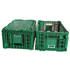 Plastic crates Foldable mesh wall for turnover and storage