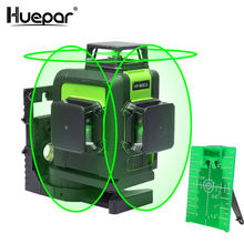 Huepar Rechargeable 360 degree 903CG ,Multi Outdoor Pulse Mode Green Beam,3D linelaserlevel,12 Lines Alignment Laser <strong>Level</strong>