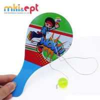 Kids funny high quality beach paddle bounce back ball for sale