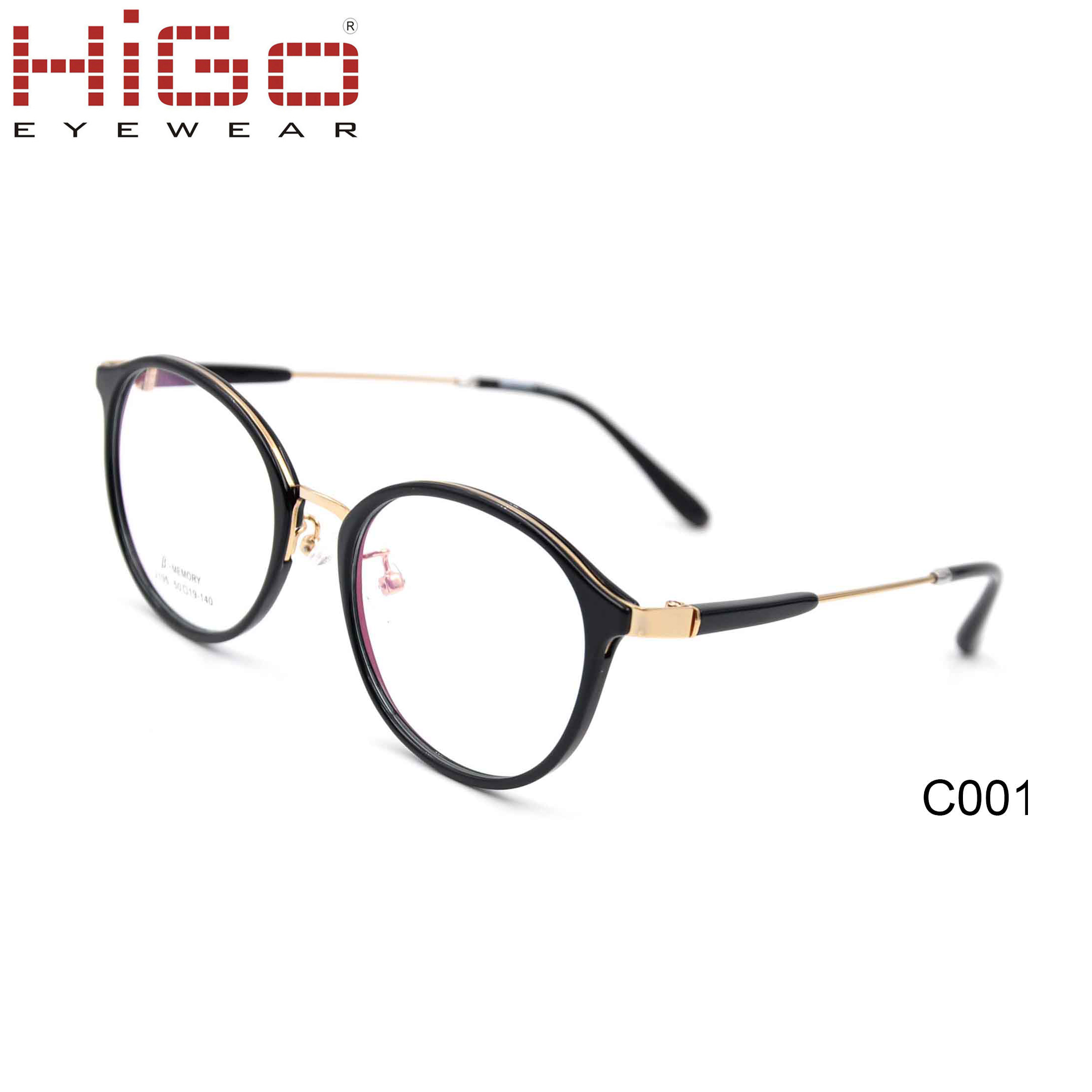 High Quality CE Vogue Round TR90 Eyeglasses Manufacture in China