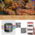 Bluetooth BBQ Meat Thermometer for Grilling with 6 Stainless Probes  Thermometer