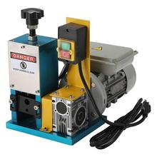 1.5-25 mm <strong>Scrap</strong> Wire Stripper Copper Cable peeling V-025M Small Industrial <strong>Scrap</strong> Wire Cutting Stripping Machine With CE V-025M