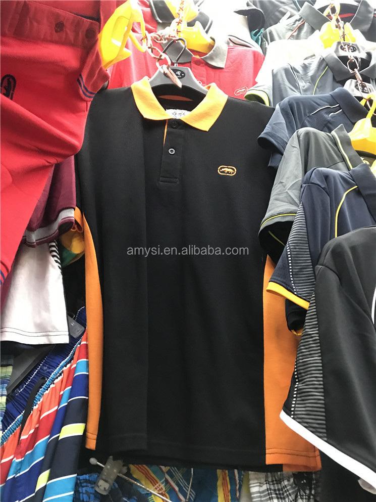 2.2 Dollar MY078 Wholesale Superior Quality 100% cotton Mens summer causal wear clothes man slim fit short sleeve Polo T Shirt
