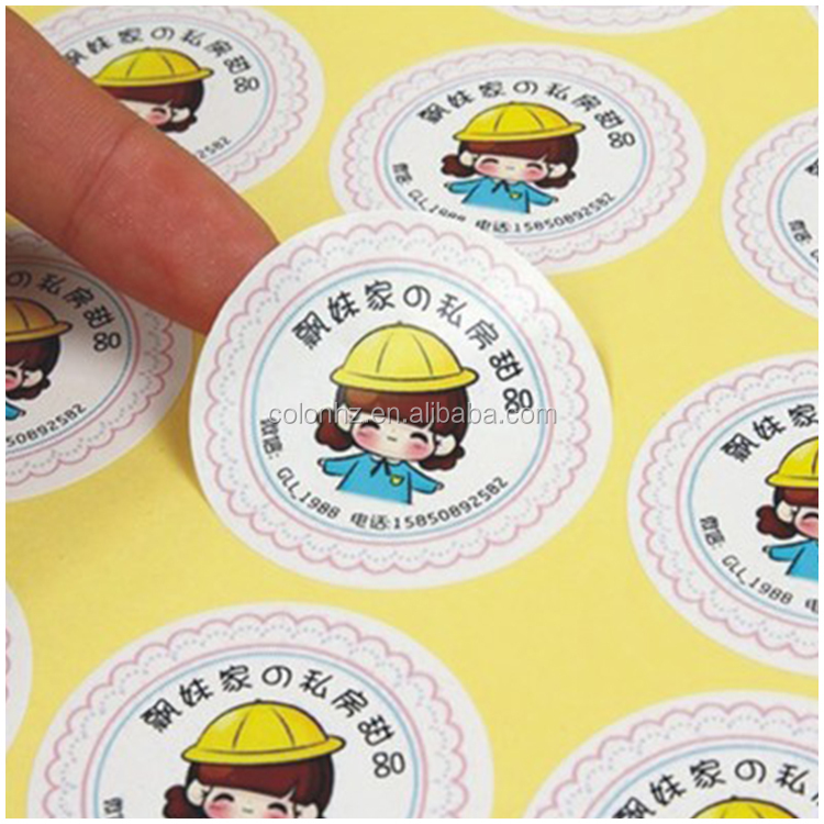 Roll to roll round half cut sticker label cutting machine on sale