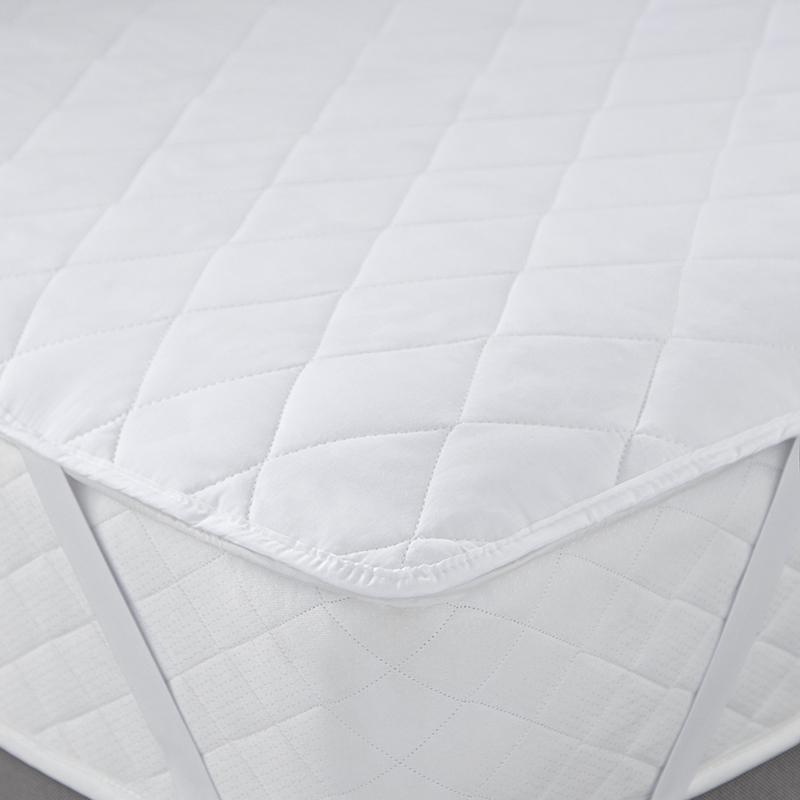 High quality cotton white Quilted hotel duck feather down massage Mattress Topper - Jozy Mattress | Jozy.net