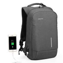 Kingsons Anti theft USB Charging Backpack Waterproof OEM ODM smart backpack Antitheft Laptop Backpack <strong>bag</strong>