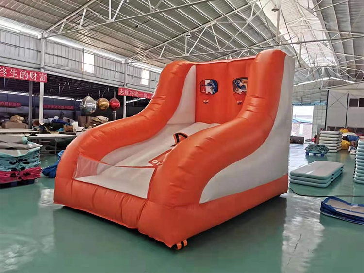 Outdoor Inflatable Basketball Stand Shoot Game Giant Commercial Inflatable Basketball Hoop for Sale