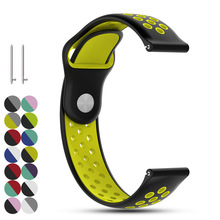 22mm Quick Release Replacement Soft Silicone Watch Strap Wrist Band Bracelet for Samsung Gear S3 Classic/S3 Frontier/Pebble Time