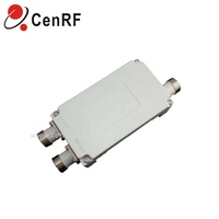 RF Combiner dual band power divider 380-960MHz & 1700-2700MHz 2 way combiner with DIN Female connector