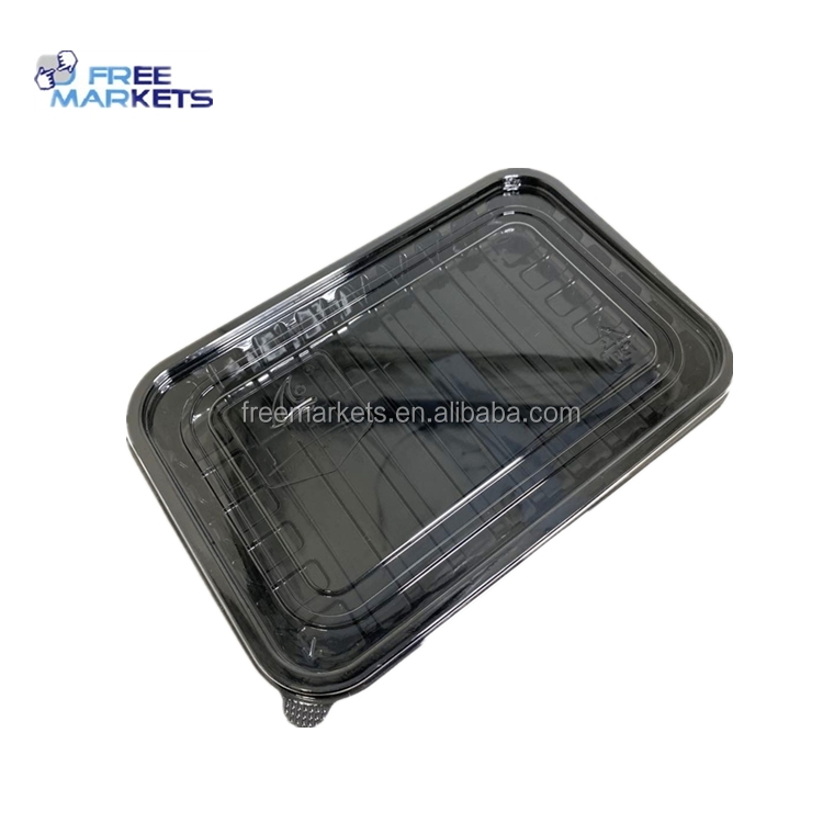 Fast Food Keeping Fresh PLA Salad Box fruit or vegetable tray 100% biodegradable food container
