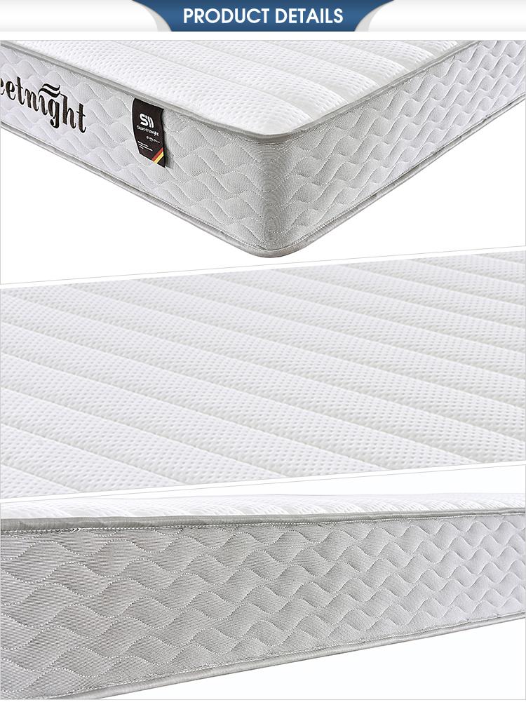 Eco-friendly super soft foam compressed springs for mattress,mattress spring - Jozy Mattress | Jozy.net