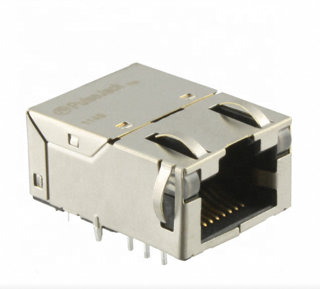 RJ45 Magjack Connector Through <strong>Hole</strong> 10/100/1000 Base-T J0G-0009NL