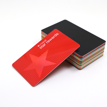 Custom Barcode Plastic Gift Card Printing Prepaid RFID Business Card For Department Store Membership