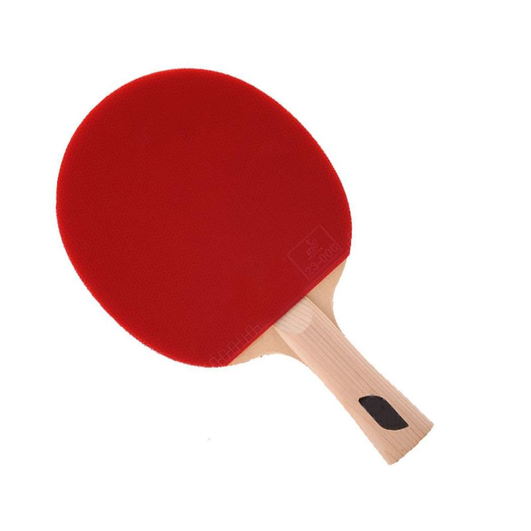 1-star cheap table tennis racket for training purpose