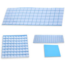 conductive thermally silicone gel pad silicon thermally conductive sponge rubber sheet pad gel