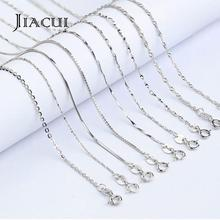 Jiacui Jewelry Silver <strong>Chain</strong> For Necklaces 925 Sterling Silver <strong>Chain</strong> 18K Gold Plated Women