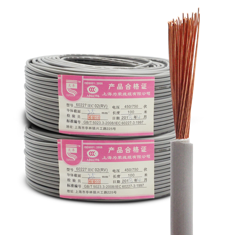 High Quality PVC Insulated Copper Core <strong>Wire</strong> RV/<strong>H07V</strong>-<strong>U</strong> 185mm Single Core Cable