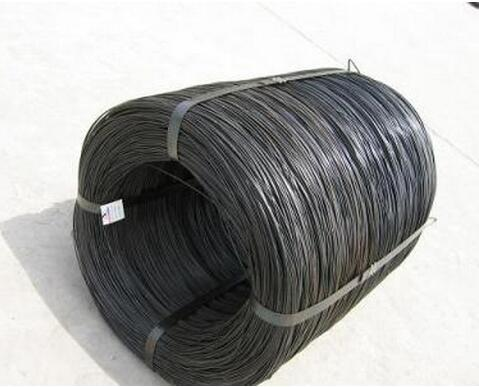 China factory 4mm cold drawn low carbon black steel wire <strong>Q195</strong> for make nails