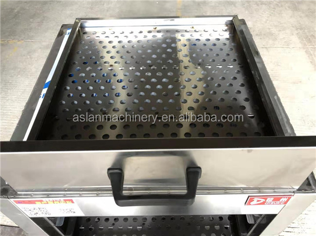 Baozi bun food steaming machine/ steamed food cooking machine/ steamed dumpling making cabinet