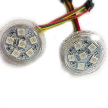 Amusement ride led lights 30mm Pixel Bulbs UCS1903 IC 6 LED Lighting Turbo Lights 5050smd <strong>rgb</strong> 12v