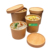 Disposable  Food Container To Go Kraft Paper Soup Cups