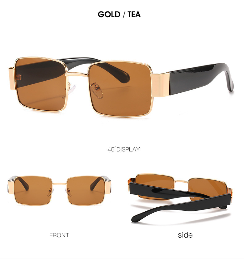 Newest Frame Rectangle Sunglasses 2020 Eyewear Fashion Women Vintage Sun Glasses