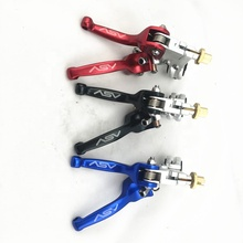 2019 newest ASV brake clutch lever with sliver head for CRF230 YZF CQR dirt bike pit bike motocross ATV