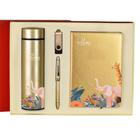 2020 gold special luxury business customized clients corporate gift set with logo
