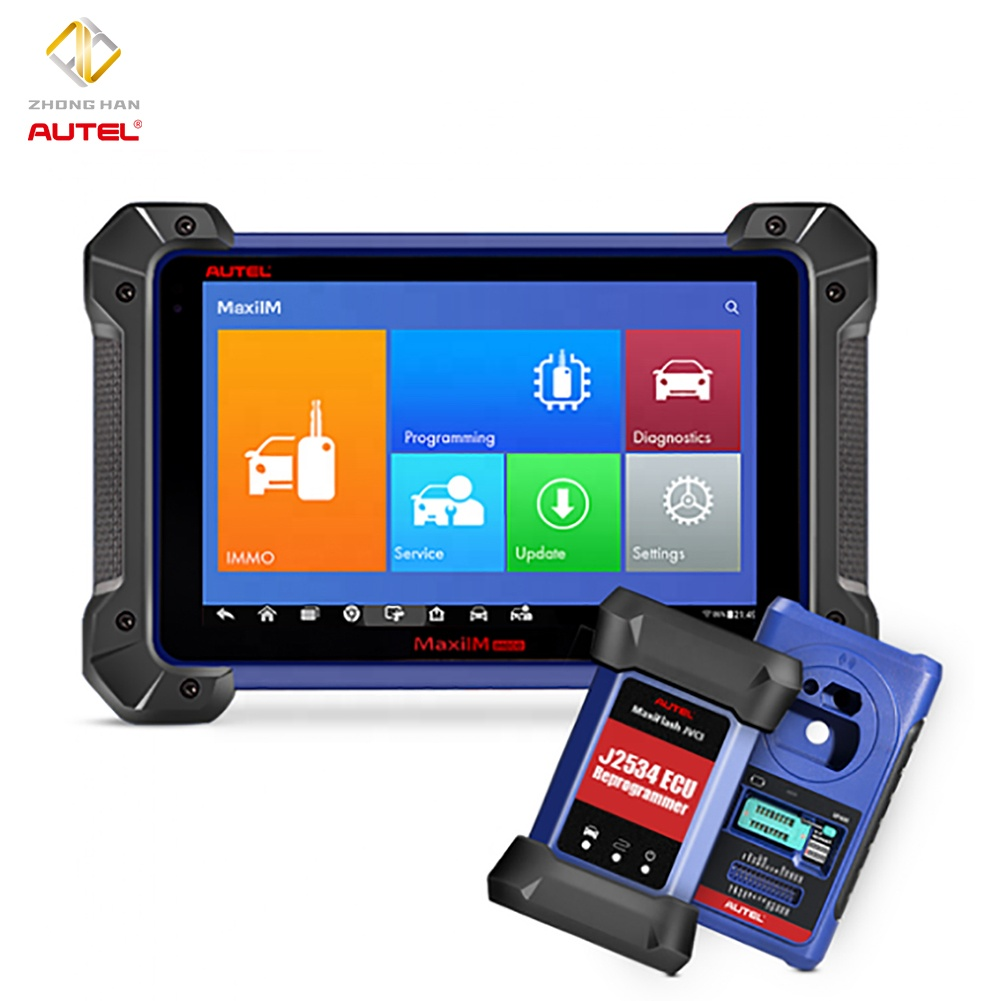 Autel Car key Programming Machine Code Reader Auto Diagnostic Tool for IMMO Function <strong>J2534</strong> XP400 ECU Coding
