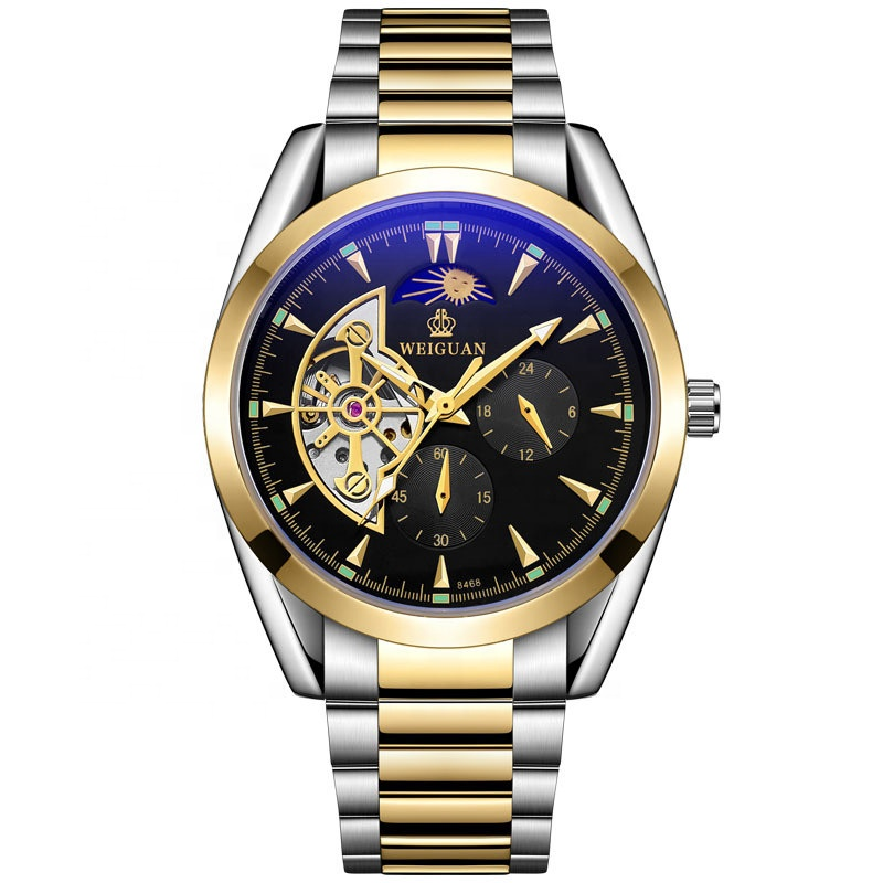 Latest selling tourbillon design <strong>stainless</strong> <strong>steel</strong> band automatic mechanical men's wrist wach
