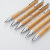 High Quality Low Prices Simple Ballpoint Pen Bamboo Stylus Wood Ballpoint Pen