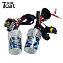 Tcart auto lighting system 3,000k ~30,000k 55w single xenon Headlight Replacement High Power Bright 12v 35w car <strong>hid</strong> light