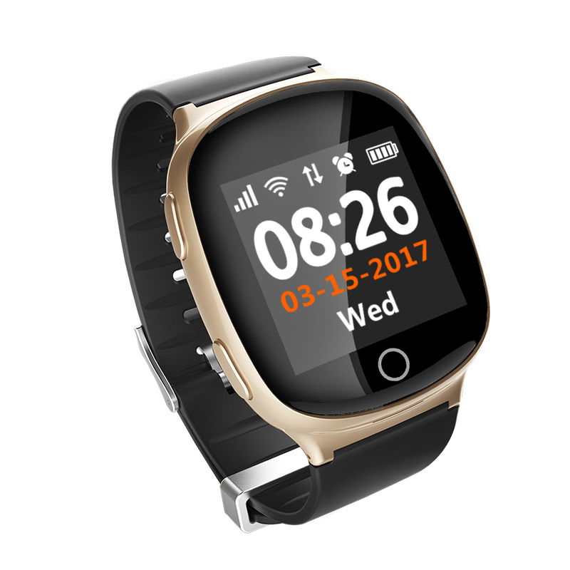 Hot Sales Factory Price China Manufacturer Personal <strong>Mobile</strong> <strong>Phone</strong> GPS Tracker CE Rohs Smart Watch