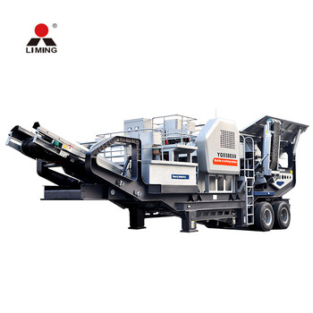 CE approved hard rock mobile crushing plant mobile stone crusher for sale in yemen