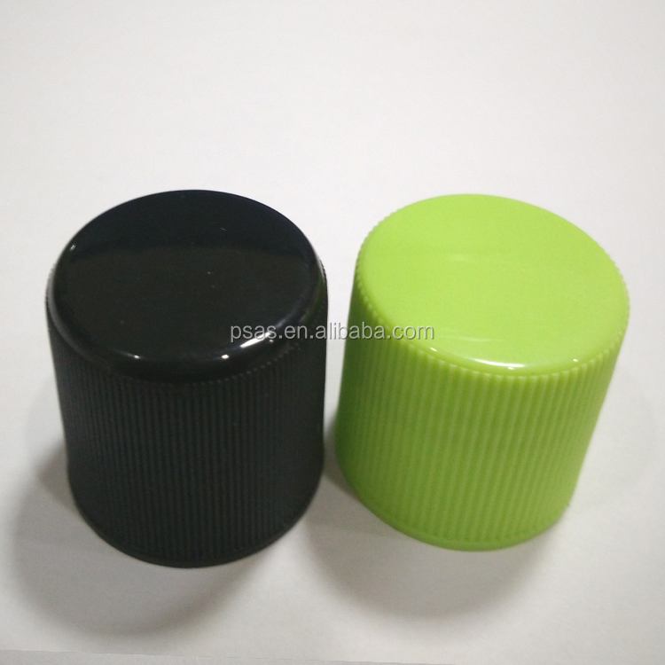 24/415 plastic type foam sealed cosmetic bottle cap plastic screw top for personal care