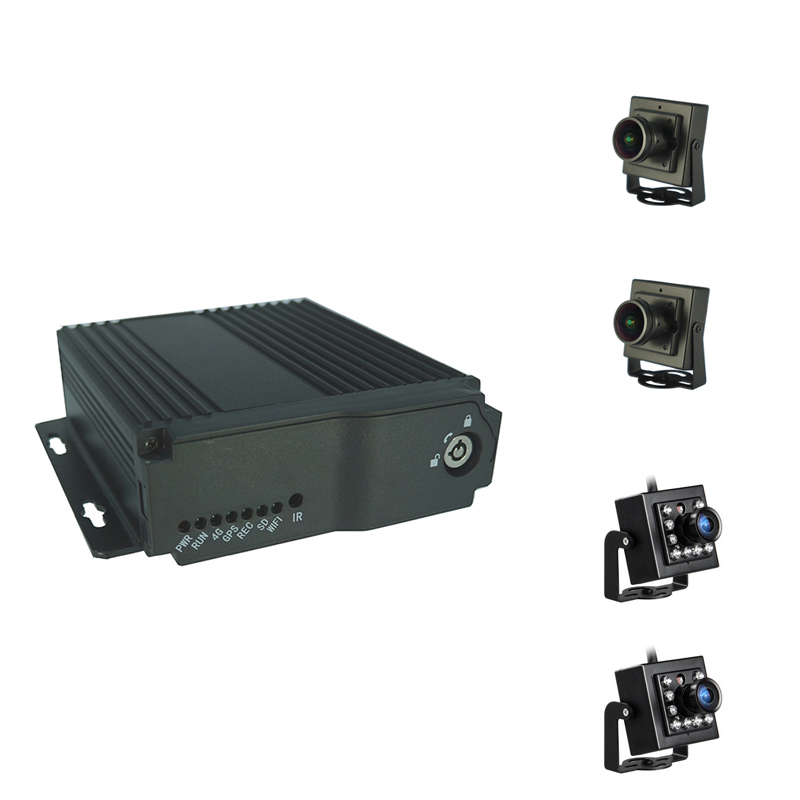 Cheapest School bus <strong>DVR</strong> kit AHD 1080P <strong>4CH</strong> GPS 4G Mobile Car <strong>DVR</strong>