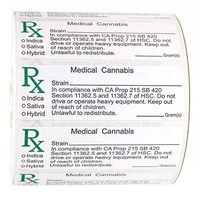 Medical Prescription RX Label Coated Paper Sticker Pill Medicine Bottle Label