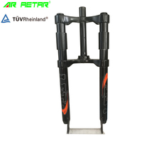 Factory bicycle front fork dual crown rigid mountain bike fork 26 20 fat bike front fork
