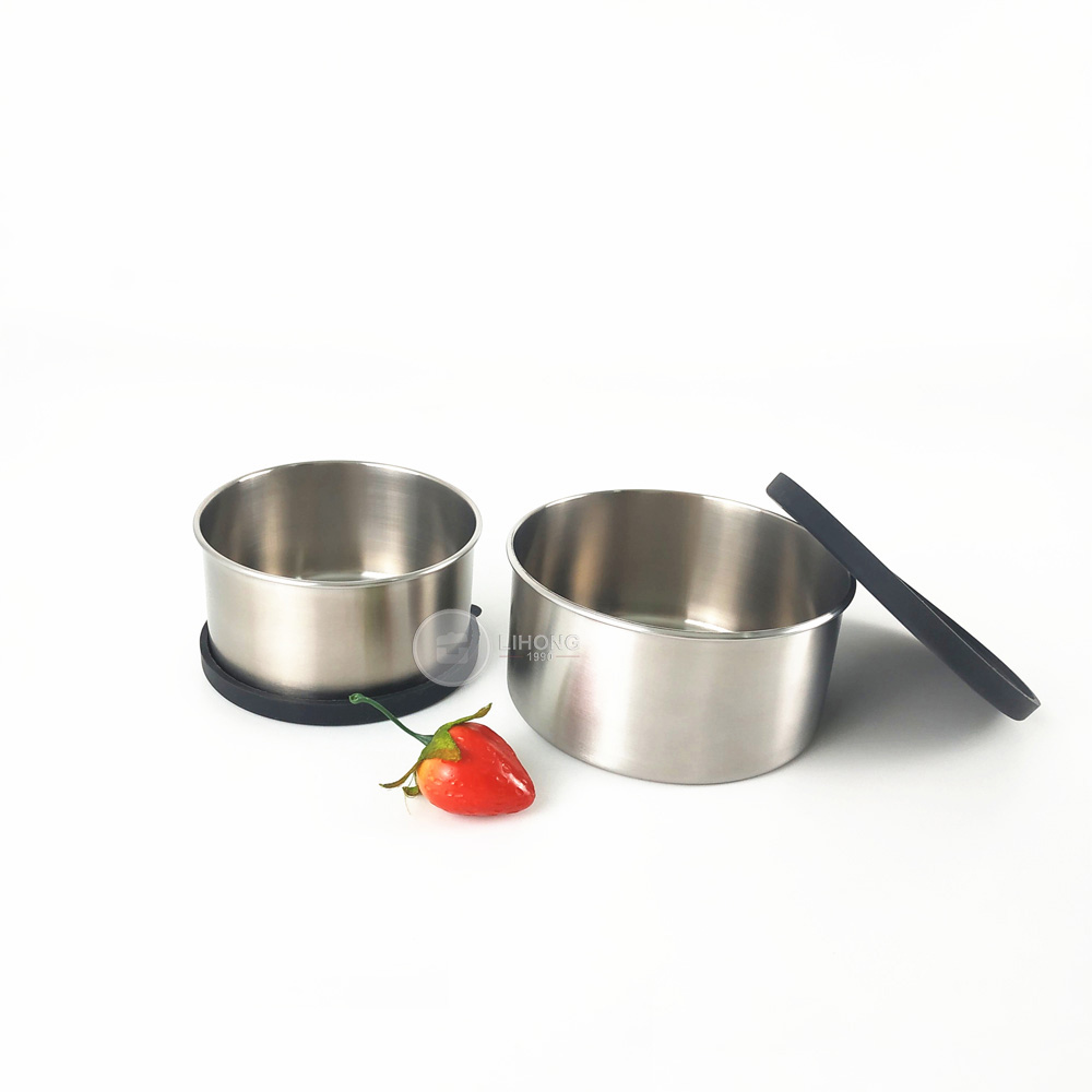 Kitchen Storage Spice Set stainless steel small condiment containers