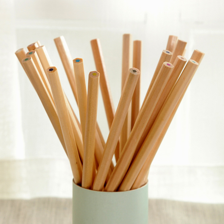 Low Cost Wholesale 7 Inches 12 Color Wooden Drawing Color Pencil