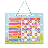 promotion hot sale 16x12inch multip kids reward chart magnetic