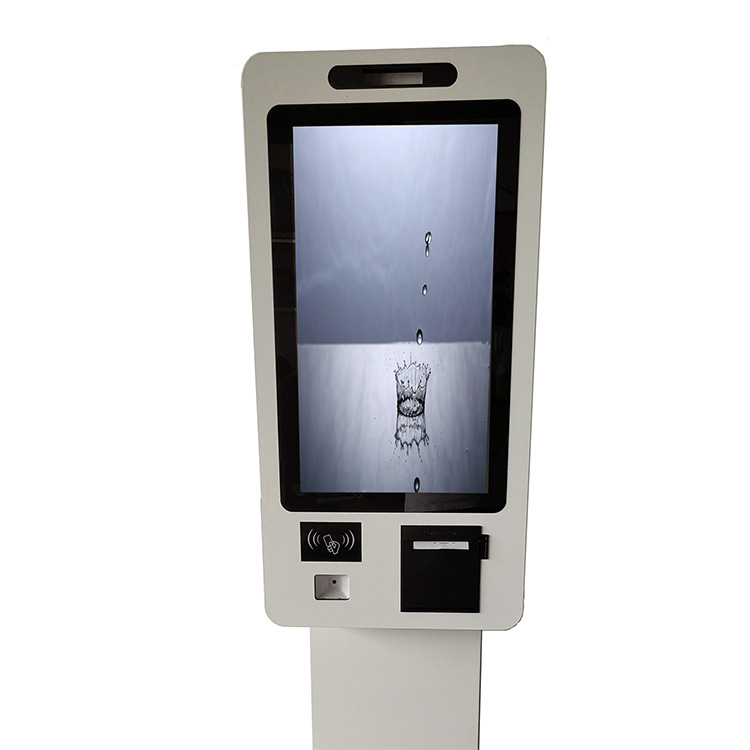 Restaurant 21.5 Inch Self-Ordering <strong>Payment</strong> Terminal Self Service Stand Kiosk Touch Screen