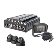 <strong>4</strong> <strong>Channel</strong> H.264 Real Time Car Monitoring Blackbox Mobile <strong>DVR</strong> 3G 4G Wifi GPS Tracking Bus Fleet Management Vehicle MDVR
